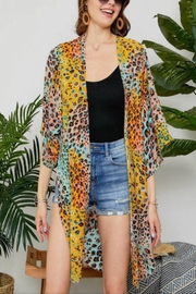 Adora Multi Color Cardigan - Front cropped