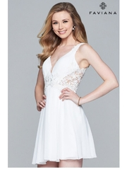 Faviana Adorable Lace Dress - Product Mini Image