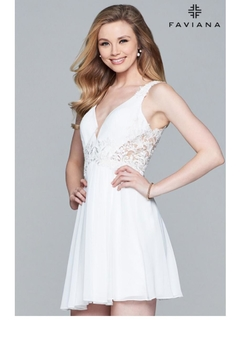 Faviana Adorable Lace Dress - Product List Image