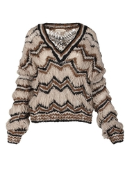 One Clothing Adoration Alpaca Sweater - Front full body