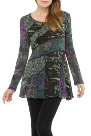 Adore Abstract Flare Tunic - Product Mini Image