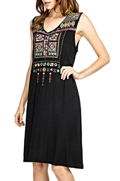 Shoptiques Product: Adored Embroidered Dress