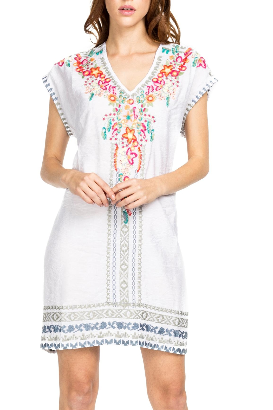 Adore Amazingly Embroidered Tunic - Main Image