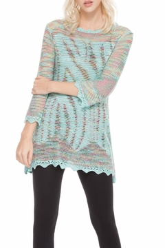 Shoptiques Product: Aqua Knit Tunic