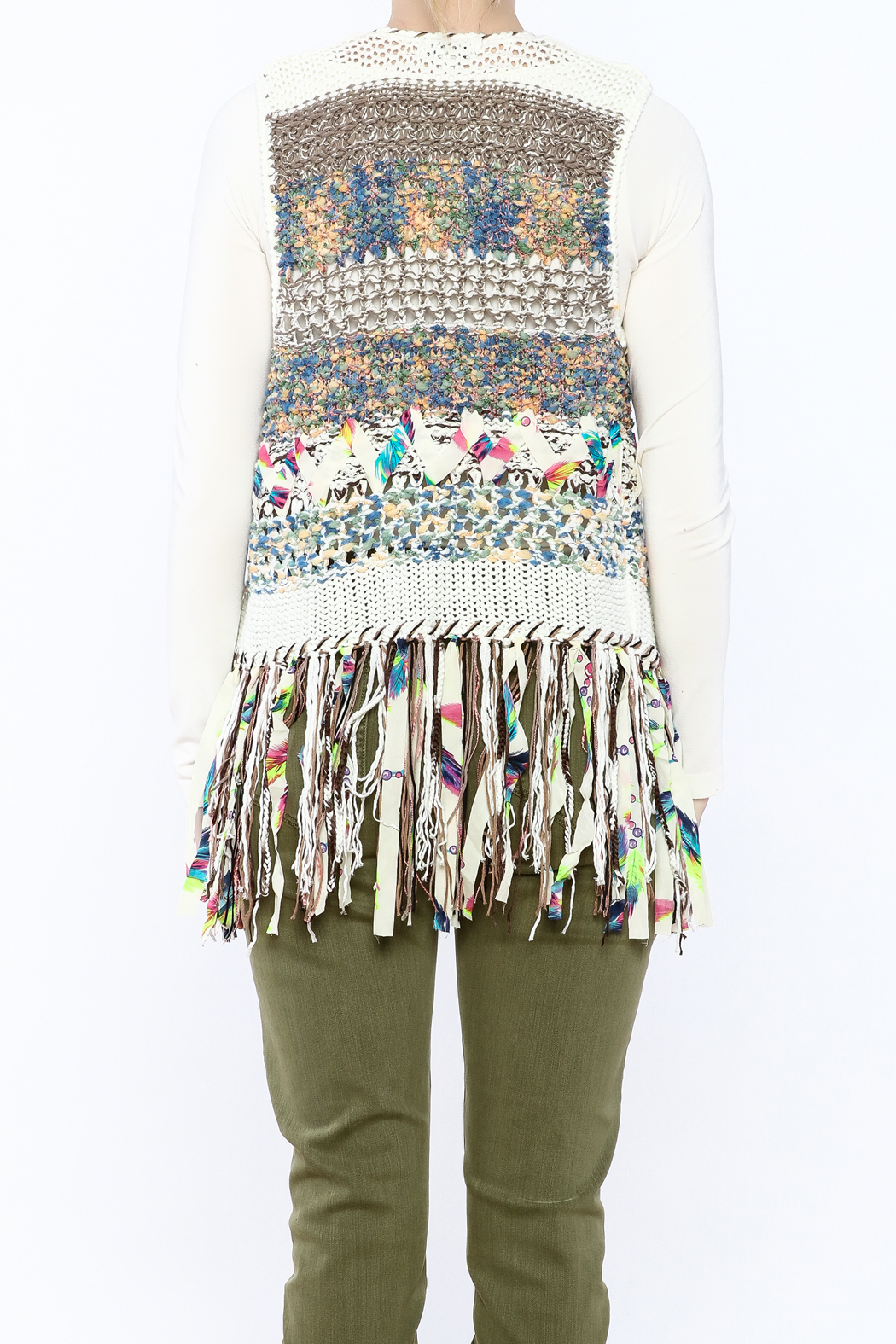 Adore Banchee Sweater Vest - Back Cropped Image