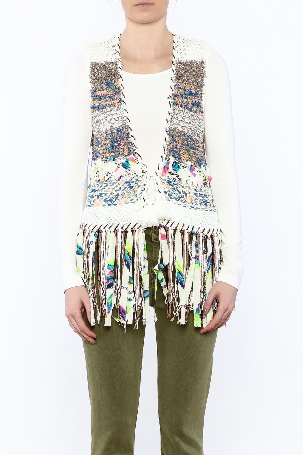 Adore Banchee Sweater Vest - Side Cropped Image