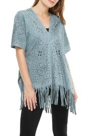 Adore Blue Laser Poncho - Product Mini Image