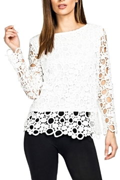 Shoptiques Product: Bubble Crochet Top