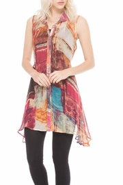 Adore Colorful Chiffon Tunic - Product Mini Image