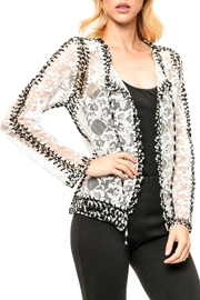 Adore Crochet Lace Jacket - Product Mini Image