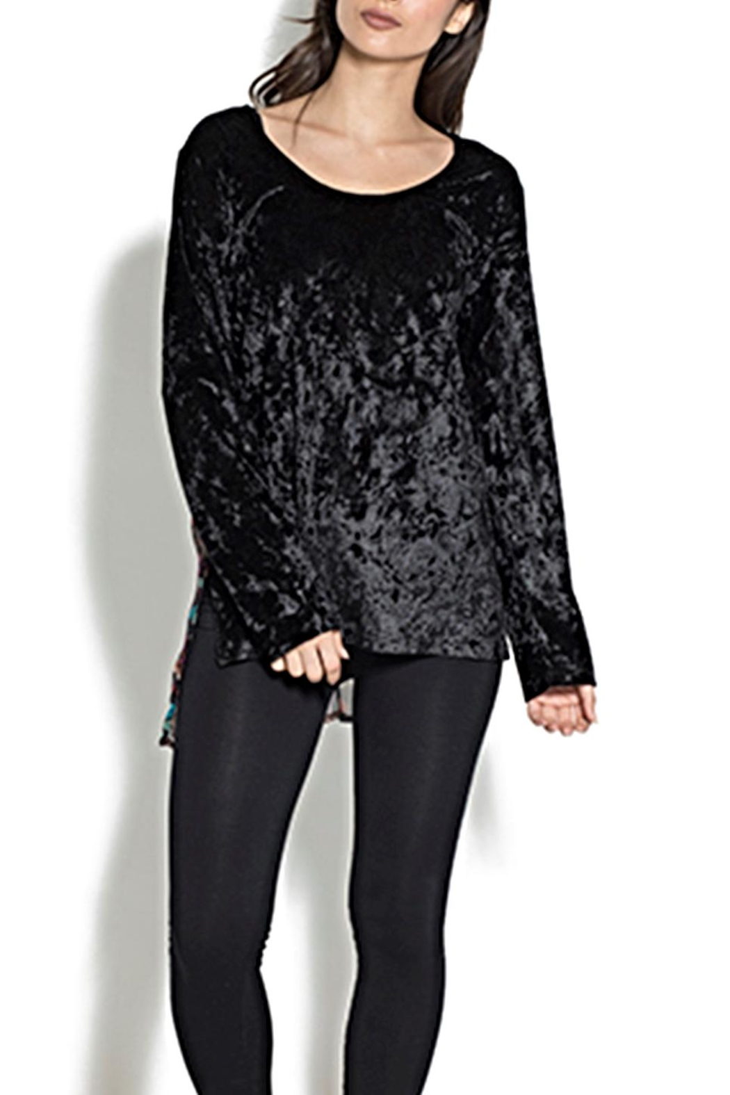 Adore Crushed Velvet Top - Main Image