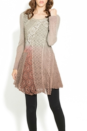 Adore Earthen Tones Tunic - Front cropped