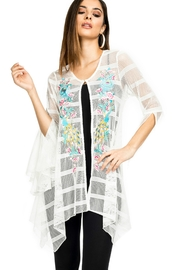 Adore Embroidered Bell Cardigan - Product Mini Image