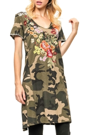 Adore Embroidered Camoflauge Dres - Product Mini Image