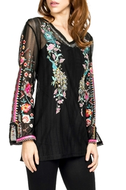 Adore Embroidered Motif Blouse - Front cropped