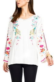 Adore Embroidered Peacock Tunic - Product Mini Image