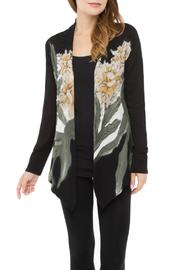 Adore Floral Ribbed Cardigan - Product Mini Image