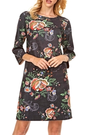 Adore Floral Suede Dress - Product Mini Image
