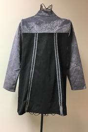 Adore Fur Embroidered Jacket - Front full body