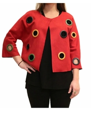 Adore Grommet Reversible Jacket - Front cropped