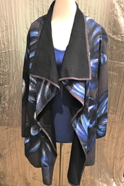 Adore Handpainted Open Wrap Cardigan - Front full body
