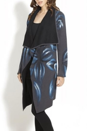 Adore Handpainted Open Wrap Cardigan - Front cropped
