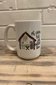Kindred Mercantile  Adore Him Mug - Alternate List Image