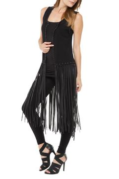 Shoptiques Product: Knit Fringe Vest