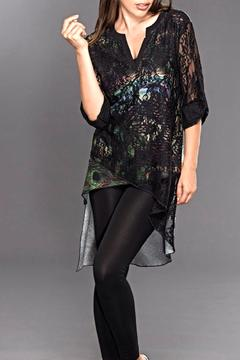 Shoptiques Product: Lace Digital Tunic