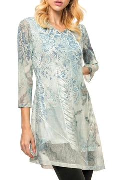 Adore Lace&Mesh Print Top - Product List Image