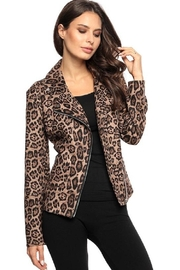 Adore Leopard Zip-Up Jacket - Product Mini Image
