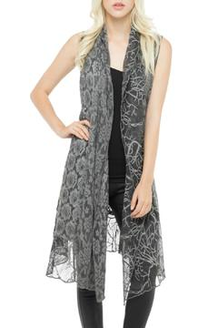 Shoptiques Product: Long Lace Vest