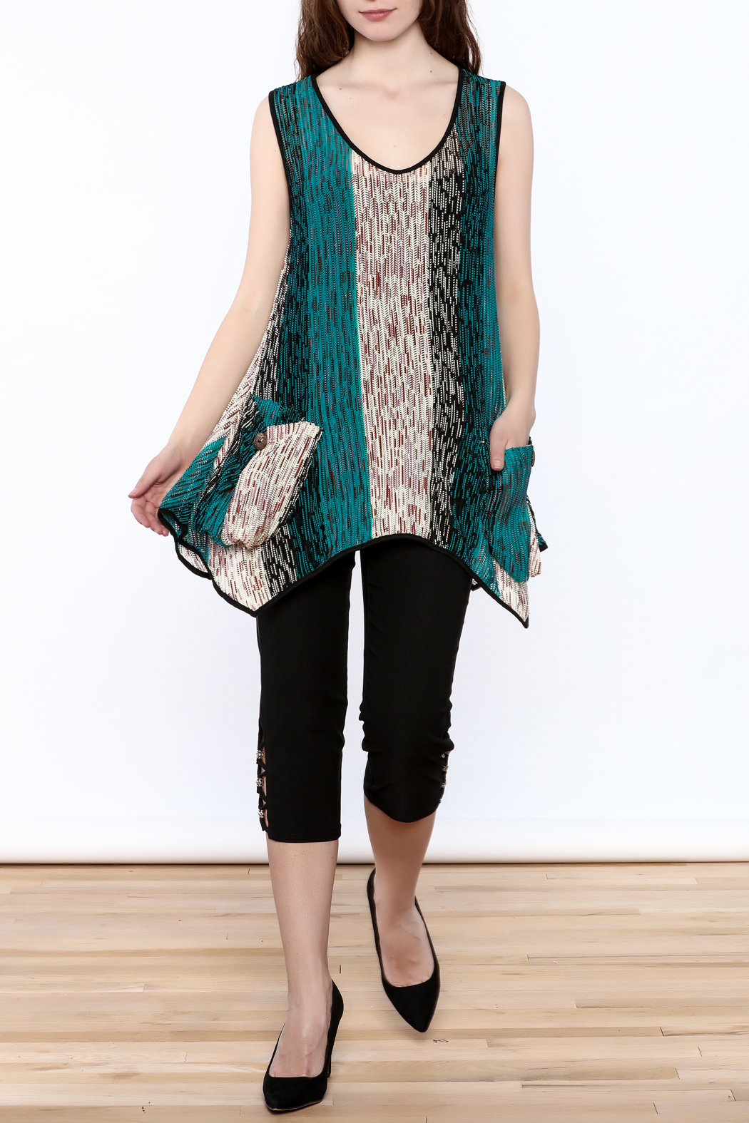 Adore Loose Fit Top - Front Full Image