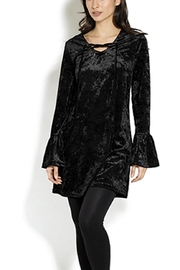 Adore Mixed Media Tunic - Front cropped