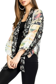 Adore Mod Floral Wrap - Front cropped