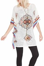Adore Morocan Tie Top - Product Mini Image