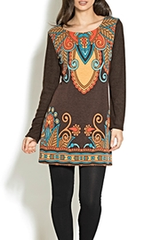 Adore Motif Tunic Sweater - Product Mini Image
