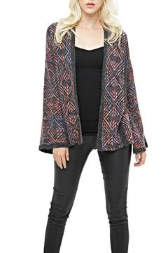 Shoptiques Product: Multicolor Stripe Cardigan