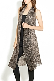 Adore Multifabric Lace Vest - Product Mini Image