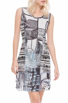Shoptiques Product: Multifabric Sleeveless Dress