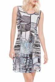 Adore Multifabric Sleeveless Dress - Product Mini Image