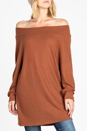 Adore Off Shoulder Tunic - Product Mini Image