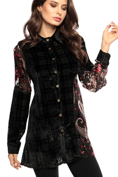 Adore Patterns Burnout Blouse - Product List Image