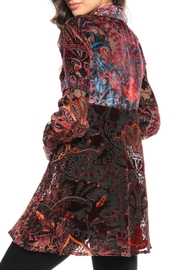 Adore Psychedelic Burnout Blouse - Front full body