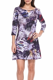 Adore Purple Keyhole Dress - Product Mini Image