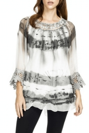 Adore Scroll Crochet Blouse - Product Mini Image
