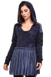 Adore Silked Up Sweater Tunic - Front cropped