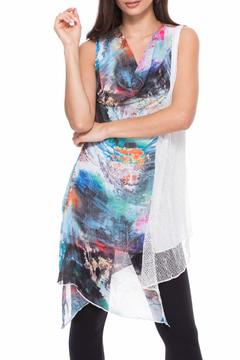 Shoptiques Product: Sleeveless Colorbursting Top