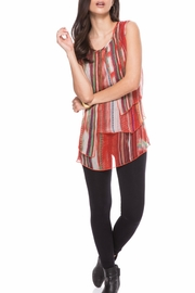 Adore Sleeveless Layered Blouse - Product Mini Image