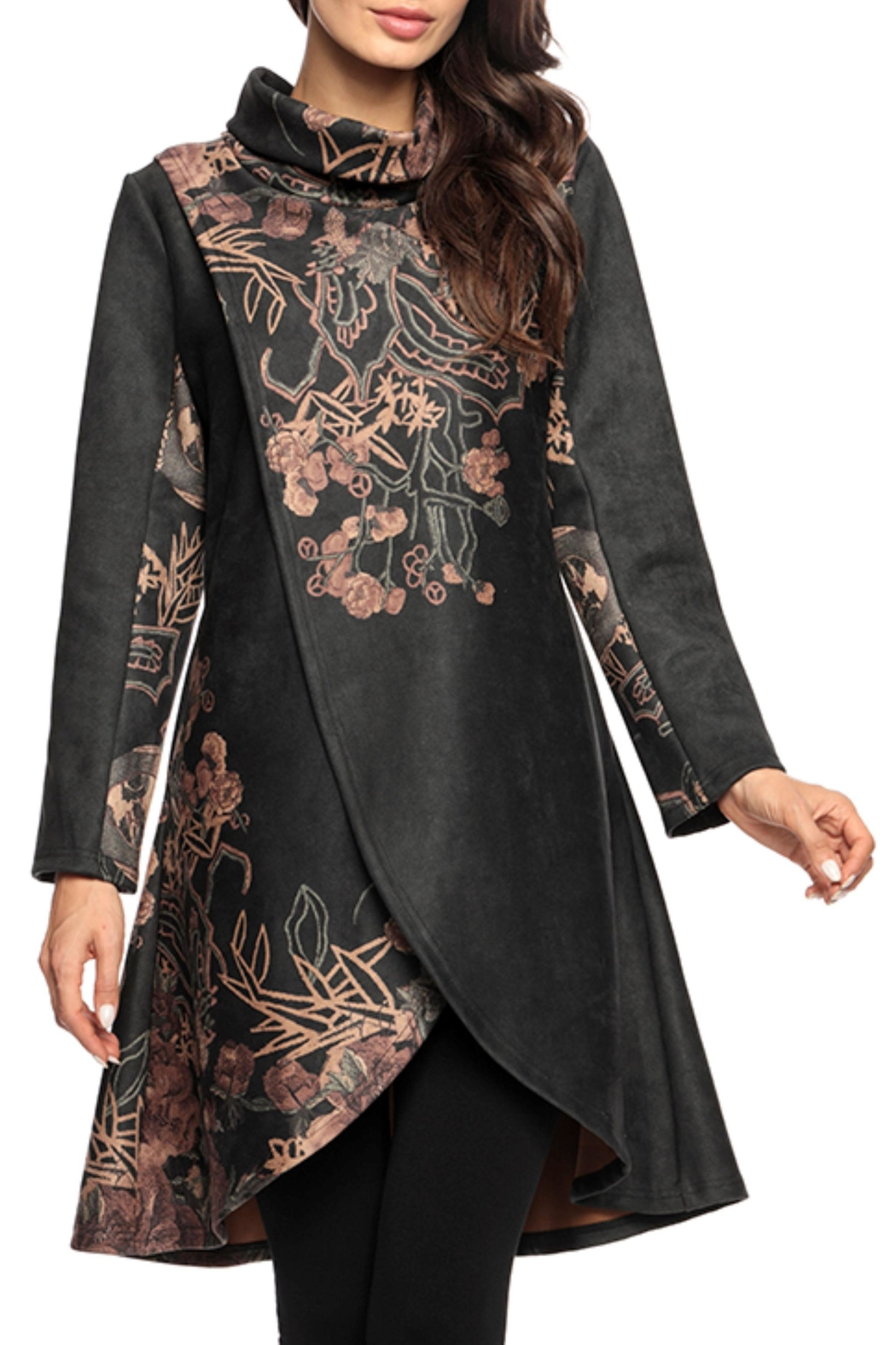 Adore Suede Pattern Tunic - Main Image